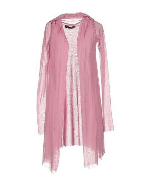 N Bab Sets Cardigan Dress Pink lyst set cardigans in pink