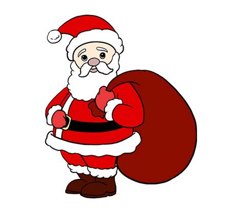 best drawi g of santa clause with chrisamas tree how to draw santa claus in a few easy steps easy drawing guides