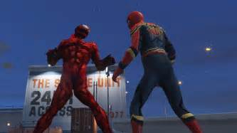 mod gta 5 deadpool carnage marvel future fight add on gta5 mods com