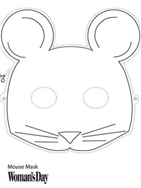 printable mouse mask template mouse mask template search results calendar 2015