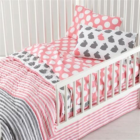girl toddler bedding geometric gold l grey girls and toddlers