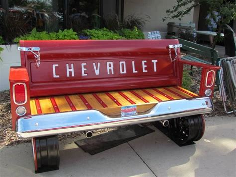 truck tailgate bench tailgate bench got your back and butt covered chevy life