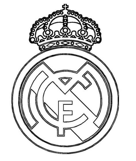 real madrid logo coloring page real madrid logo soccer coloring pages boys coloring
