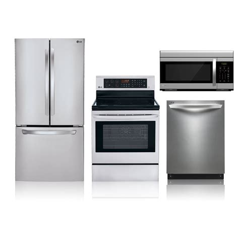 kitchen stainless steel kitchen appliance package 4