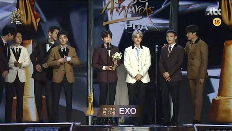 exo gda 2018 winners of the 32nd golden disc awards day 2 soompi
