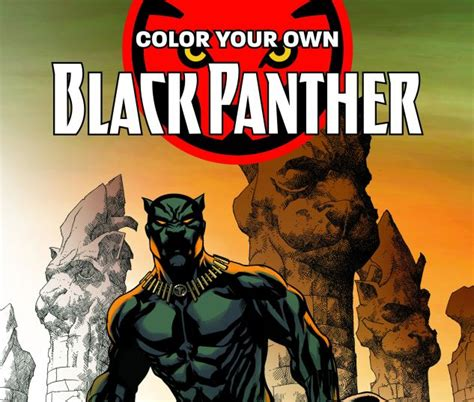 color your own black panther books color your own black panther trade paperback comic
