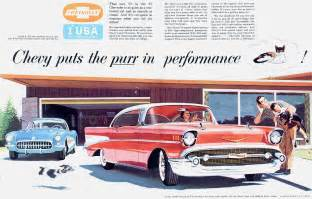 Chevrolet Advertising 1957 Chevrolet Ad 01