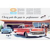 1955 1956 1957 Ads  TriFivecom Chevy