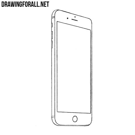 How To Draw On Phone how to draw a smartphone drawingforall net