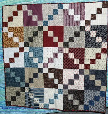 Easy Four Patch Quilt Pattern by Four Patch Scrap Quilt Pattern Quilts