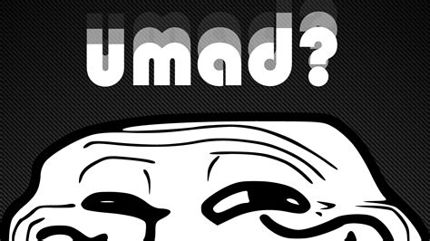 U Mad Meme Face - trollface umad wallpaper by embarrassment on deviantart