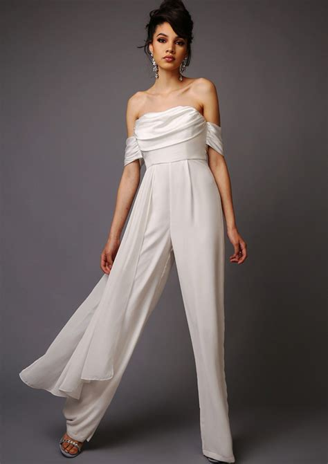 Wedding Jumpsuits by 22 Bridal Designers For Fashion Brides Onefabday