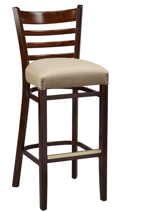ladder back counter stools with seats regal seating series 415 wooden ladder back counter height