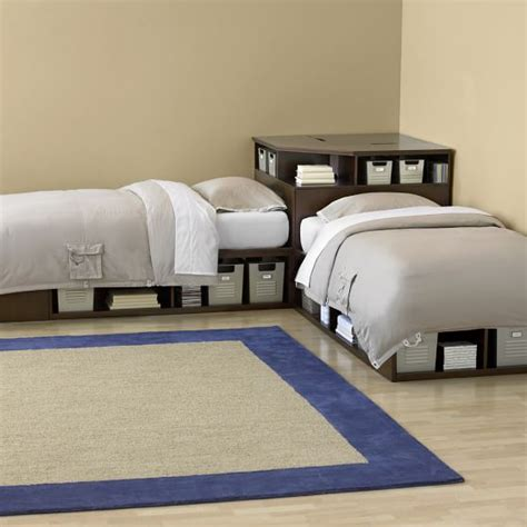 Store It Corner Unit Pbteen Corner Beds With Table