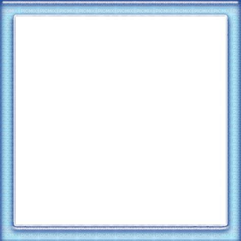 blue square frame, cadre, framework picmix