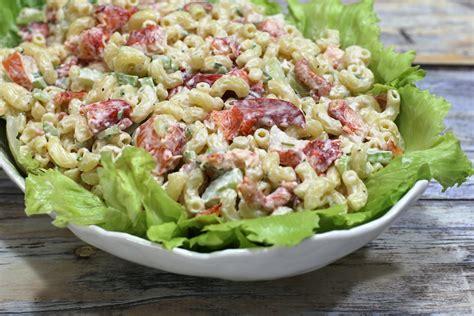 Macaroni Salad lobster macaroni salad recipe