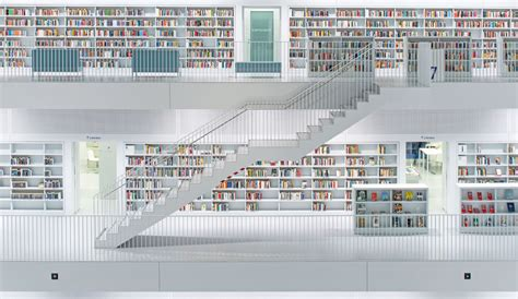 Stuttgart City Library stadtbibliothek stuttgart trilux simplify your light