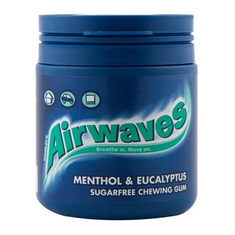 hacks for getting sugarfree gum off clothing airwaves menthol eucalyptus chewing gum 84g woolworths co za