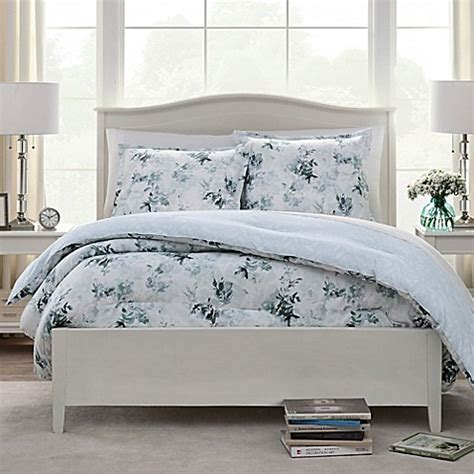watercolor leaves comforter set bed bath beyond