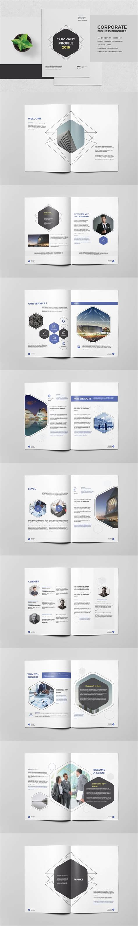 17 best ideas about corporate brochure design on pinterest