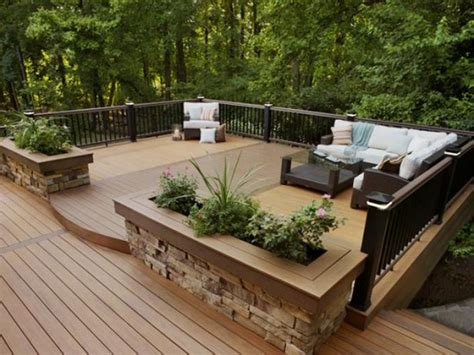 deck design ideas amazing beautifuly wood deck designs ideas interior