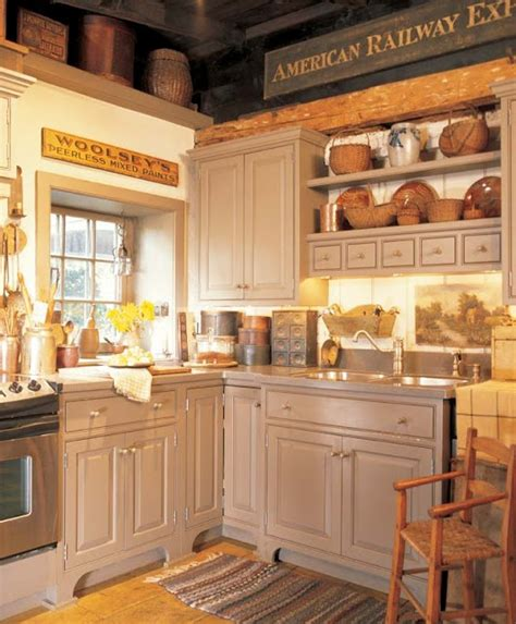 putty colored kitchen cabinets early homes spring summer 2012 perfectly prim