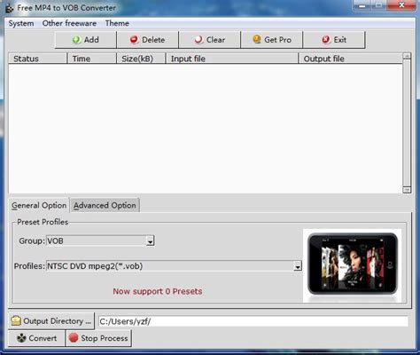 Converter Format Vob | online video converter from mp4 to vob format