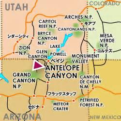 antelope arizona map lower antelope map road trippin