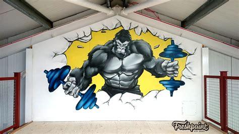 graffiti gym freshpaint