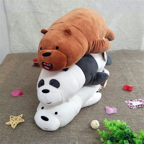Kitchen Cabinets For Home Office Po Authentic We Bare Bears Miniso Plushie Preorders On