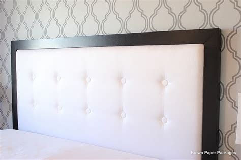 Diy White Headboard by Black White Diy Headboard Bppackages Photos