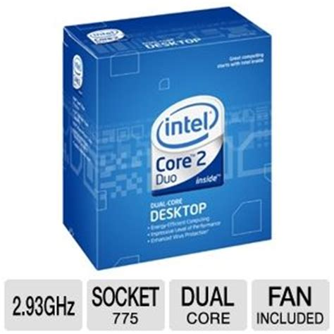 Intel 2 Duo E7500 Tray Fan intel 2 duo e7500 processor bx80571e7500 2 93ghz 3mb cache 1066mhz fsb wolfdale 3m
