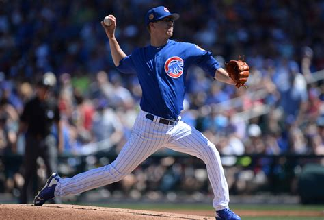 chicago cubs candidates for the cubs 2018 starting rotation