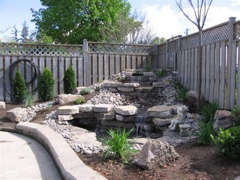 Backyard Waterfall Design Ideas Backyard Waterfall Design Backyard Waterfall Photos Better Home And Garden Future Home Ideas