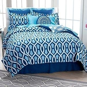 Happy Chic Bedding by Jonathan Adler Happy Chic Blue Navy White Trellis 8pc