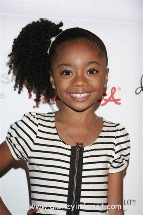 side ponytail child hairstyles for black kids