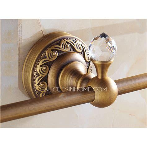 unique towel bars for bathrooms unique antique brass single decorative towel bars