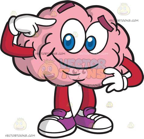 brain clipart a bright and smart brain clipart vector