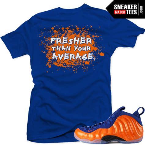 sneaker t shirt websites foosite one knicks fresher than average sneaker