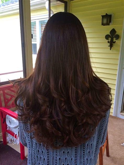 hidden stack shape haircut long layered victoria secret v shape haircut for long hair