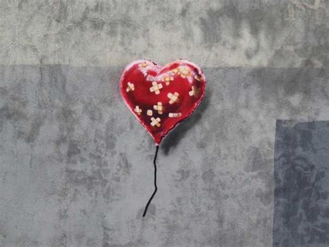 Mickey Mouse Wall Mural banksy heart balloon in brooklyn business insider