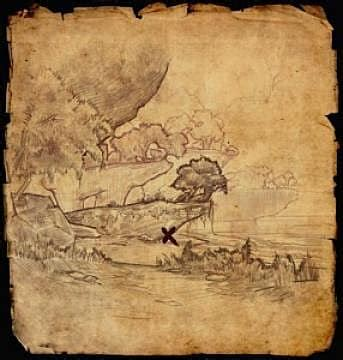 guide to eso treasure maps: hunting for riches with