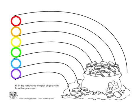rainbow coloring page with color names 20 shapes worksheets for 3 year olds autumn mixed