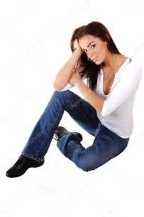 Sitting On by Sad Sitting On Floor Stock Photo 169 Sucher 3391302