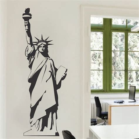 statue of liberty wall decal trendy wall decals