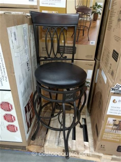 Bayside Swivel Bar Stool by Bayside Furnishings Swivel Bar Stool