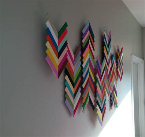 Inexpensive Ways To Decorate Your Home ice cream sticks or wall decor revolution flame