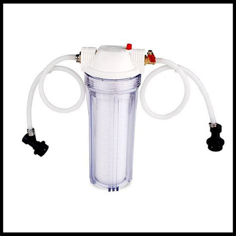 Housing 10 Clear Drat 3 4 Wl10 10 quot home brew filter kit 1 0 micron draft homebrew on aliexpress alibaba