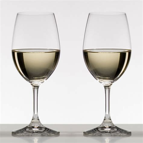riedel barware riedel ouverture white wine glass set of 2 glassware