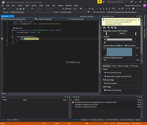 dot js template modern web development using asp net template vue js
